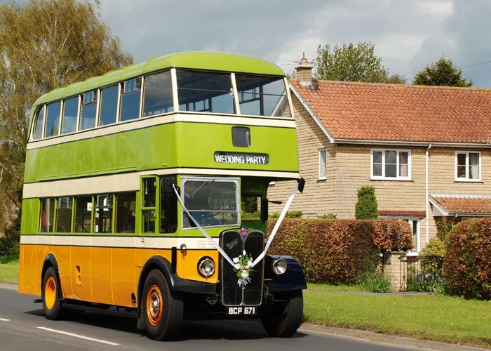 Double Decker Bus Hire Occasional And Wedding Transport