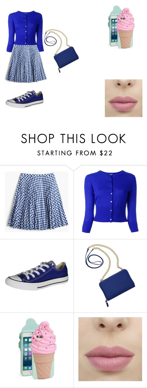 """clumsy book 7"" by bellapaige-clxxi on Polyvore featuring J.Crew, N.Peal, Converse, TravelSmith and Kate Spade"