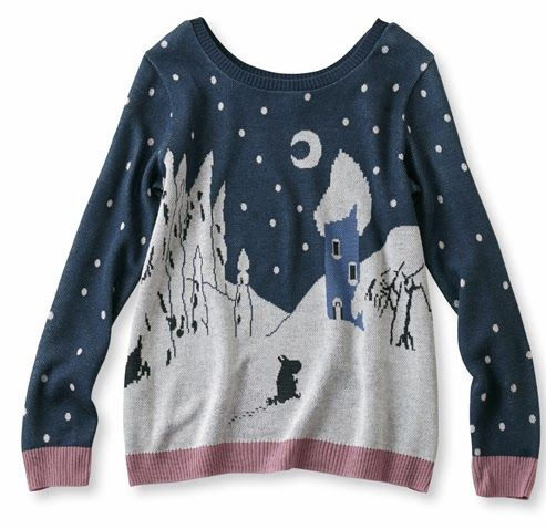 CuteTravel.com - Kawaii Travel Blog - Cute Places Around the World  More  Moomin Clothes from Felissimo 41967b1d62