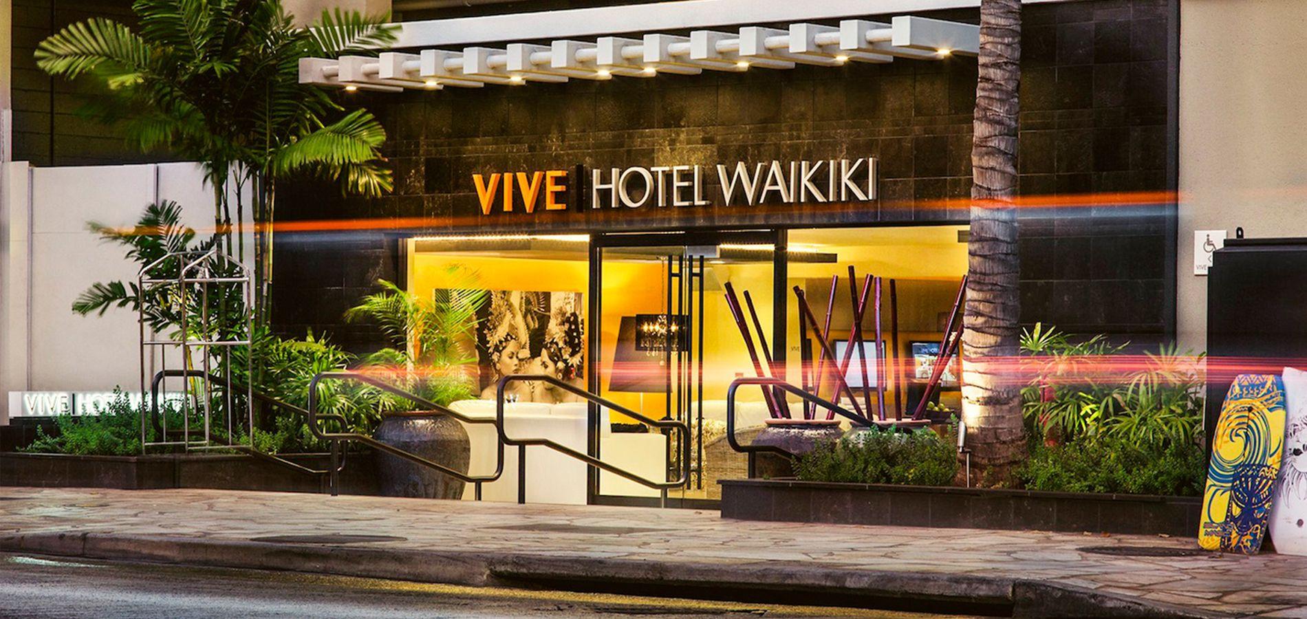 Vive Hotel Waikiki Is Honolulu S Newest Lifestyle Boutique Hotel