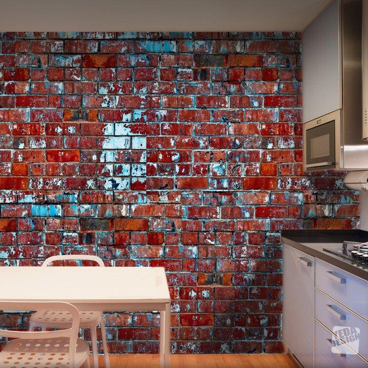 """Résultat De Recherche D'Images Pour """"Decoration Brique Rouge Style"""