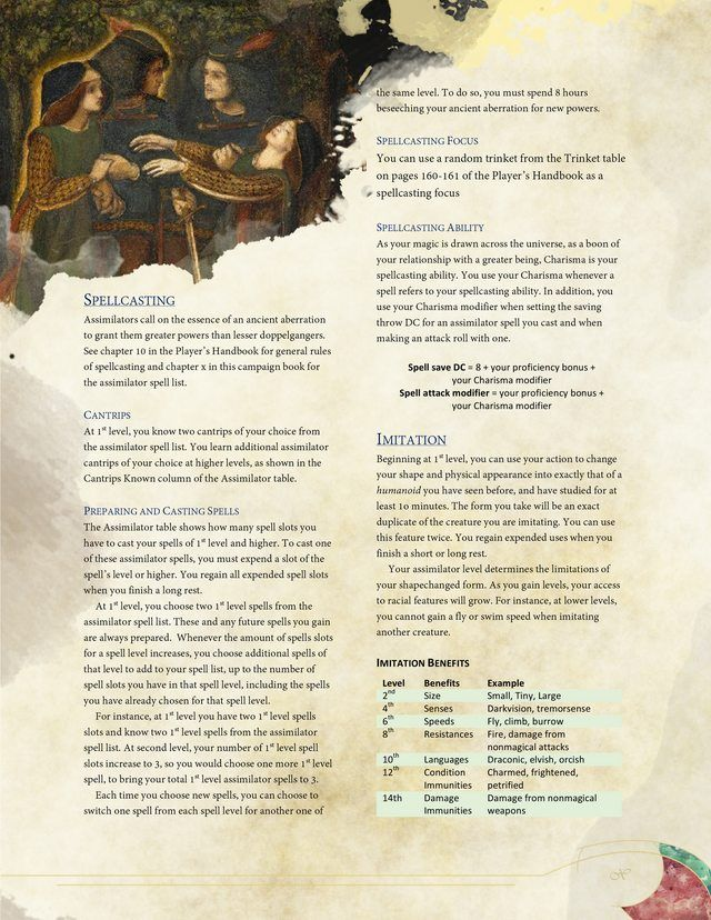 Rethinking Playable Monsters - ReSkinning Existing Classes