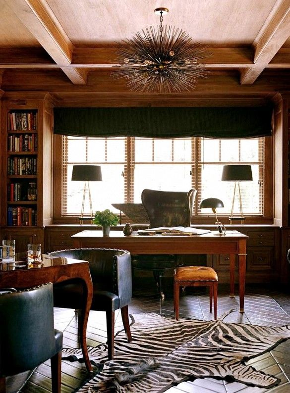shop the room: a moody, masculine office | masculine office