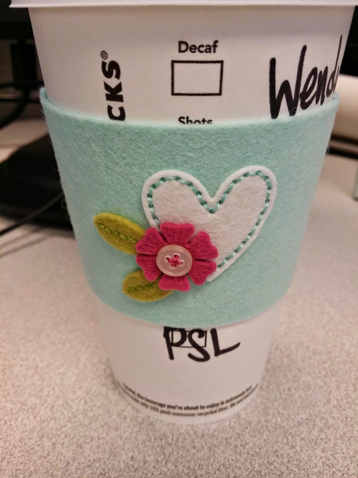 Practically Paper: Coffee Cozy and a Card   PTI Coffee Cozy Die ...