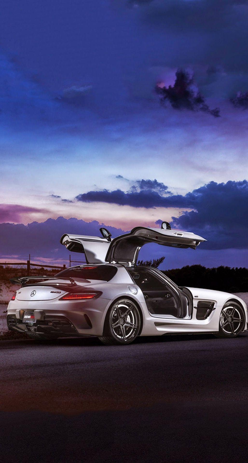 Mercedes Sls Amg Coupe Black Series Iphone 6 Plus Hd Wallpaper