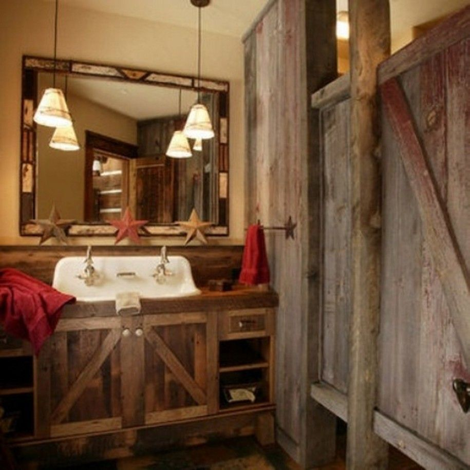 Stylish Creative Ideas Rustic Bathroom Accessories Rustic Home .