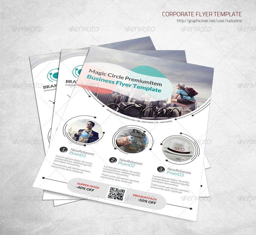 Magic Circle II - Corporate Flyer | Magic circle, Photoshop and ...