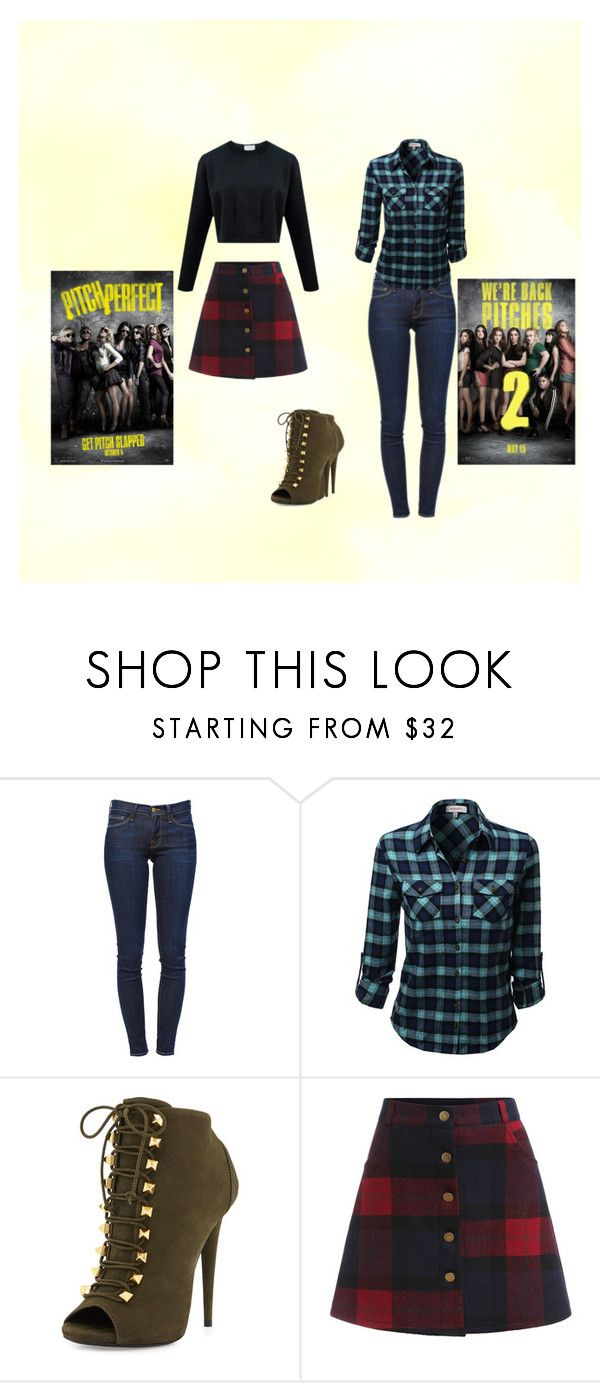 """Pitch Perfect"" by marthabr on Polyvore featuring Frame Denim and Giuseppe Zanotti"