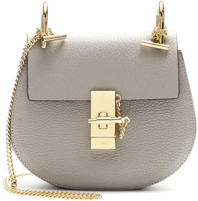 Chloe-Drew-Small-Shoulder-Bag-Grey  8c830c3d44af1