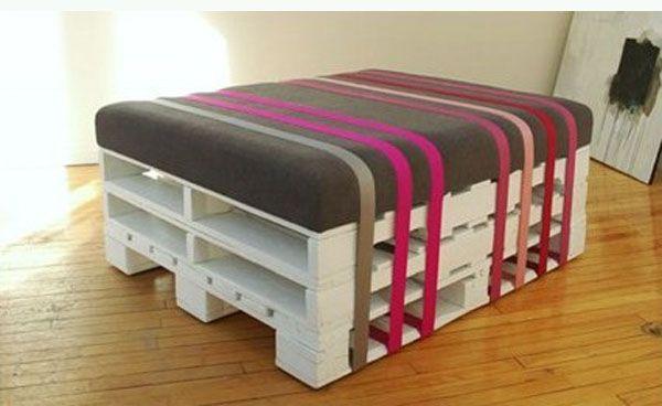 Ideas creativas para el reciclado de palets de madera ¿Tienes