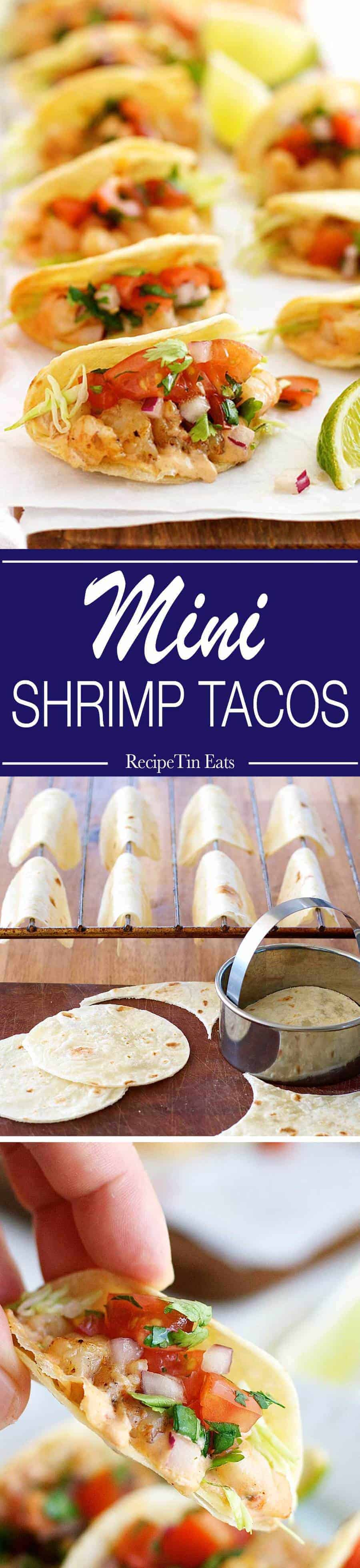 Prawn / Shrimp Taco Appetizers