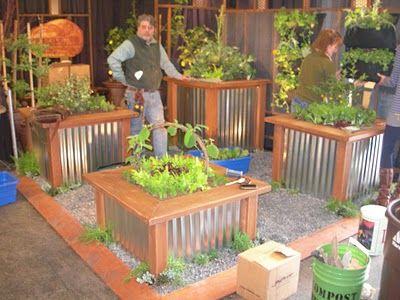Sharon Lovejoy March 2011 Raised Planter Raised Planter Boxes Rustic Planters