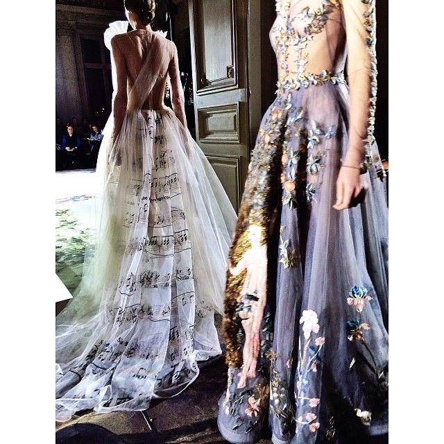 Valentino Haute Couture Spring 2014 #carrouseldelamode