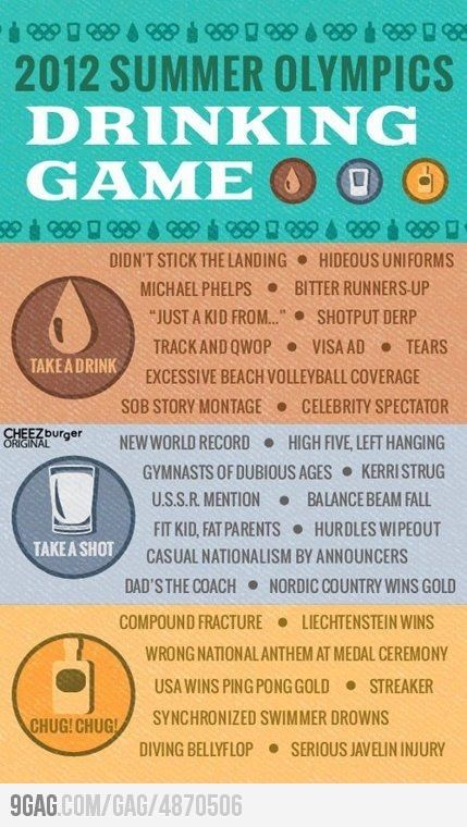 Awesome drinking games