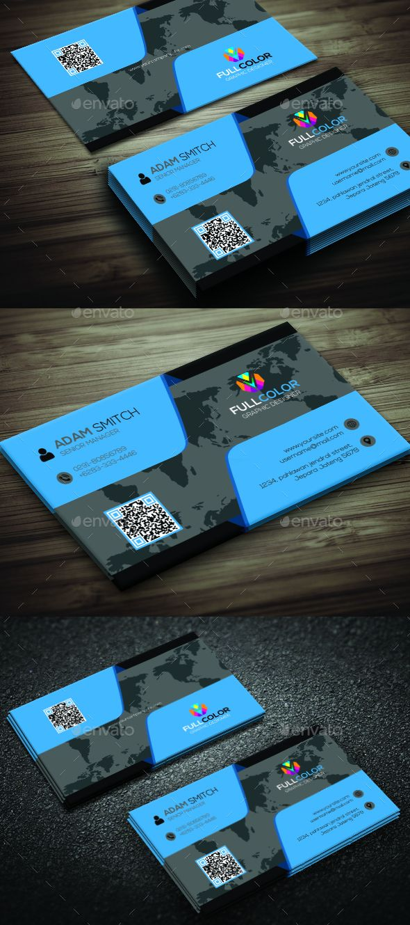 Simple Creative Business Card | Business cards, Business and Creative