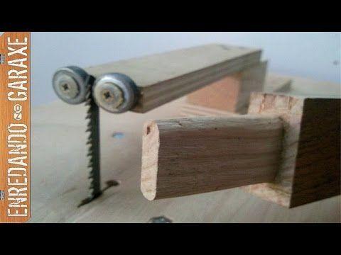 Enredando no garaxe c mo cortar espigas de madera con la for Cortar madera con radial