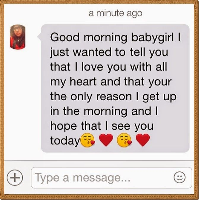 Sweet Morning Text Messages For Her
