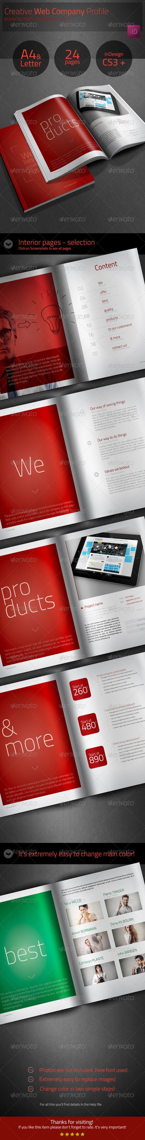 Example Of Company Profile Template Simple Business Brochure  Company Profile  Business Brochure Company .