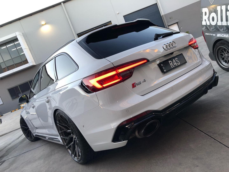 Audi Rs4 B9 White Bc Forged Eh176 Wheel Frontaudi Rs4 B9 White Bc Forged Eh176 Wheel Front In 2020 Audi Audi Rs4 Audi Car Models