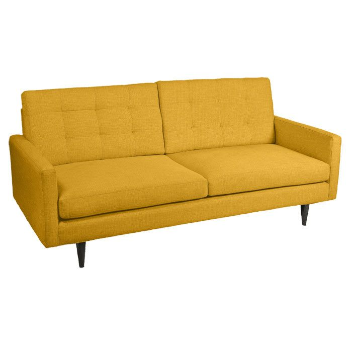Retro Linen Sofa