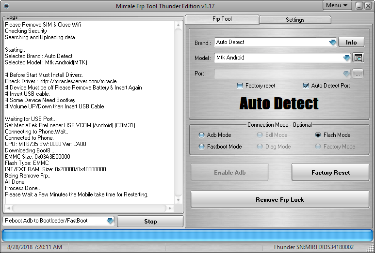 Download Miracle FRP Tool V1 17 Full Setup : Only FRP Tool