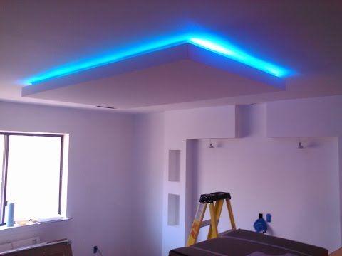 Schon LED Deckenleuchte Selber Bauen | Direktes Und Indirektes LED Licht |  Deutsch   YouTube