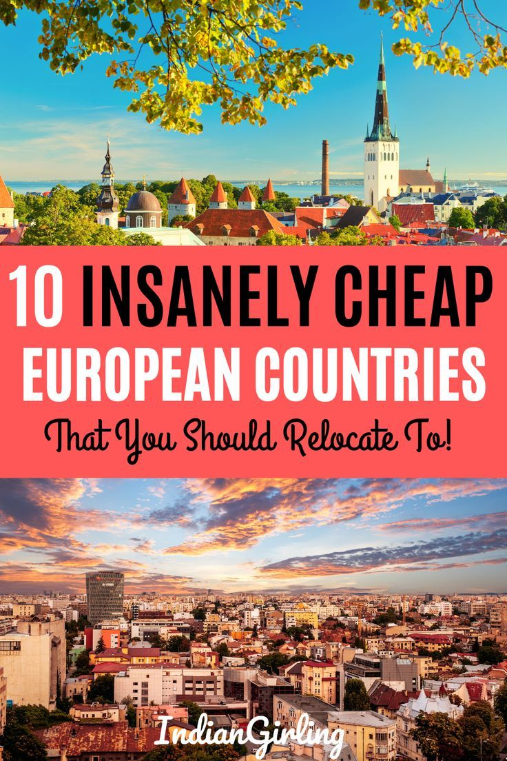 The Cheapest Places In Europe To Live For Nomadic Souls