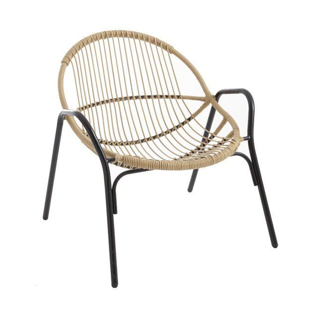 Fauteuil De Jardin En Metal Cuba Castorama Cadeiras