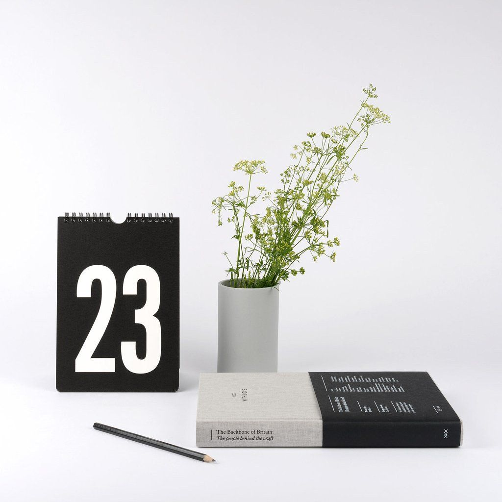 ~ Perpetual Calendar  #Aesthetics #Design  #Interiors #Minimalist #Simplicity