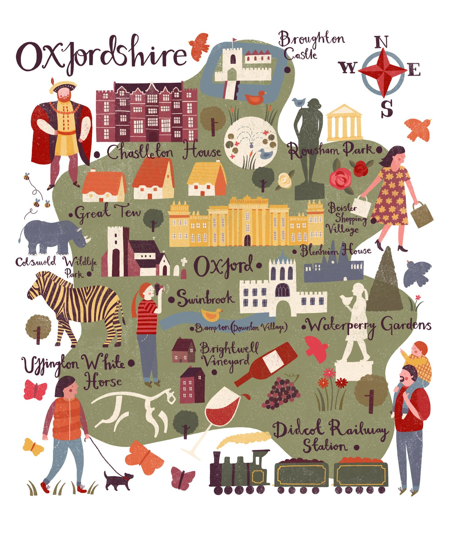 Oxfordshire Printables Pinterest Map Design Travel Maps And