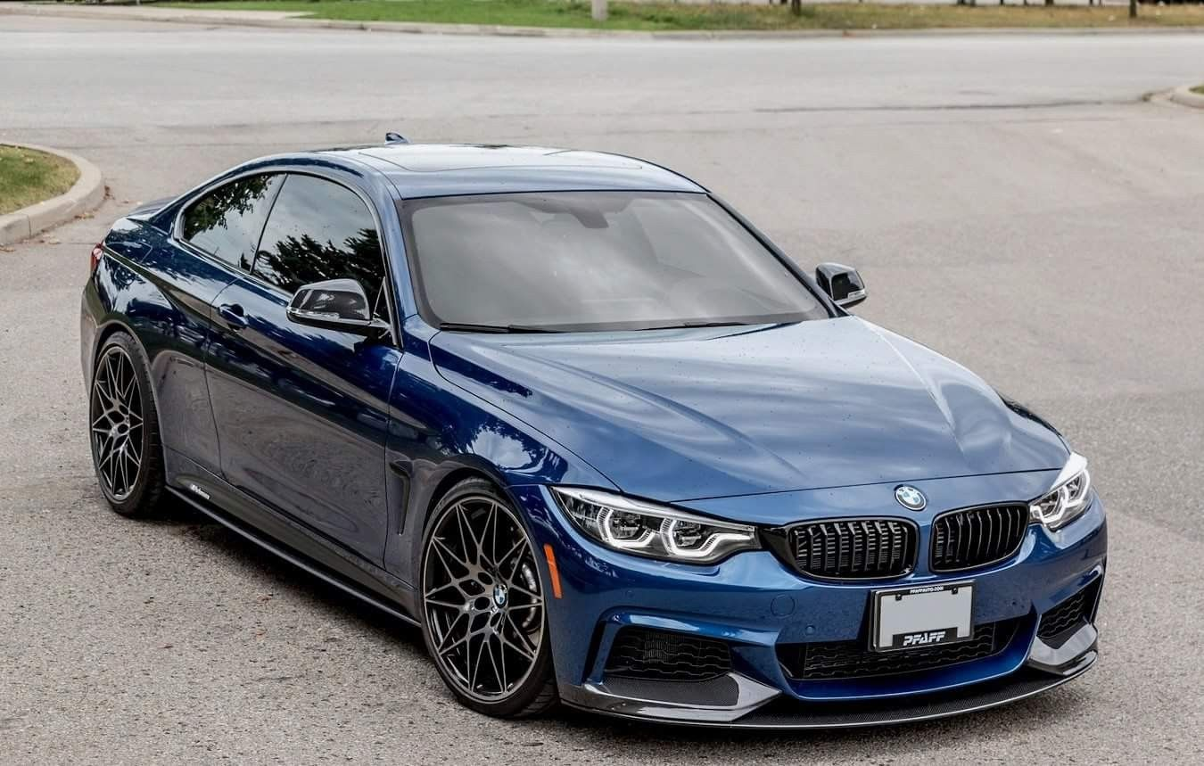 Bmw F32 4 Series Blue With Images Bmw Series Dream Cars Bmw Bmw
