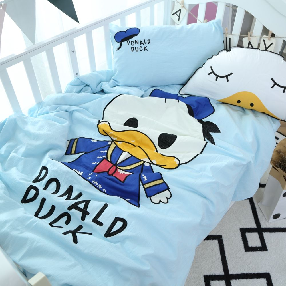 Donald Daisy Duck Baby Bedding Set Cot Crib Bedding Set