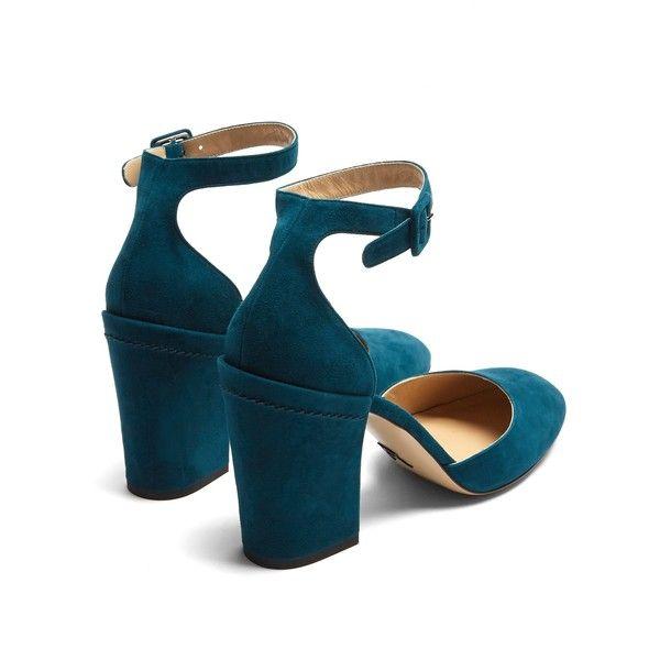 Bastioni block-heel suede pumps PAUL ANDREW vRU9vGxY