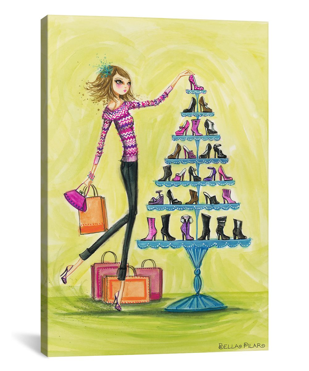 Splendid Shoes Gallery-Wrapped Canvas | Products | Pinterest ...