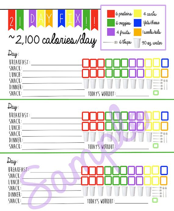 Day Fitness Logging System Tracking Sheet Beach Body