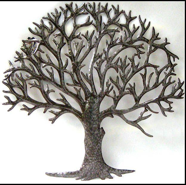 Metal Tree Wall Art Sculpture   Wall Art : Interior Design Ideas .