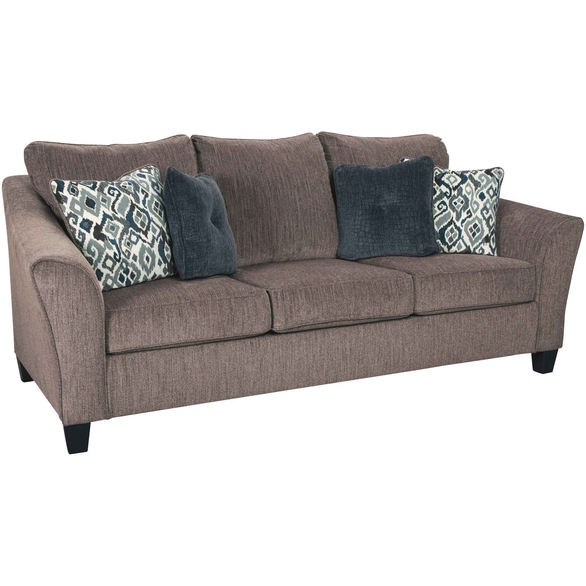 Ashley Furniture Nemoli Slate Queen Sleeper Sofa In 2021 Queen Sofa Sleeper Slate Sofa Sofa Ashley furniture pull out couch