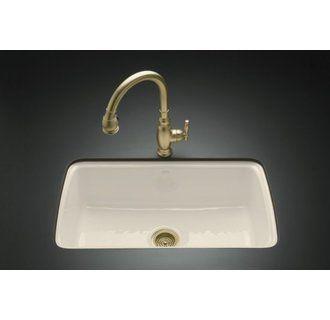 Kohler K 5864 5u Sink Cast Iron Kitchen Sinks Undermount Kitchen Sinks