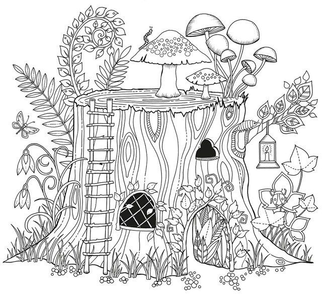- Coloring Book Secret Garden Pdf - Coloring Pages Pics Images Pictures Etc.  Cool Coloring Pages, Enchanted Forest Coloring Book, Basford Coloring Book