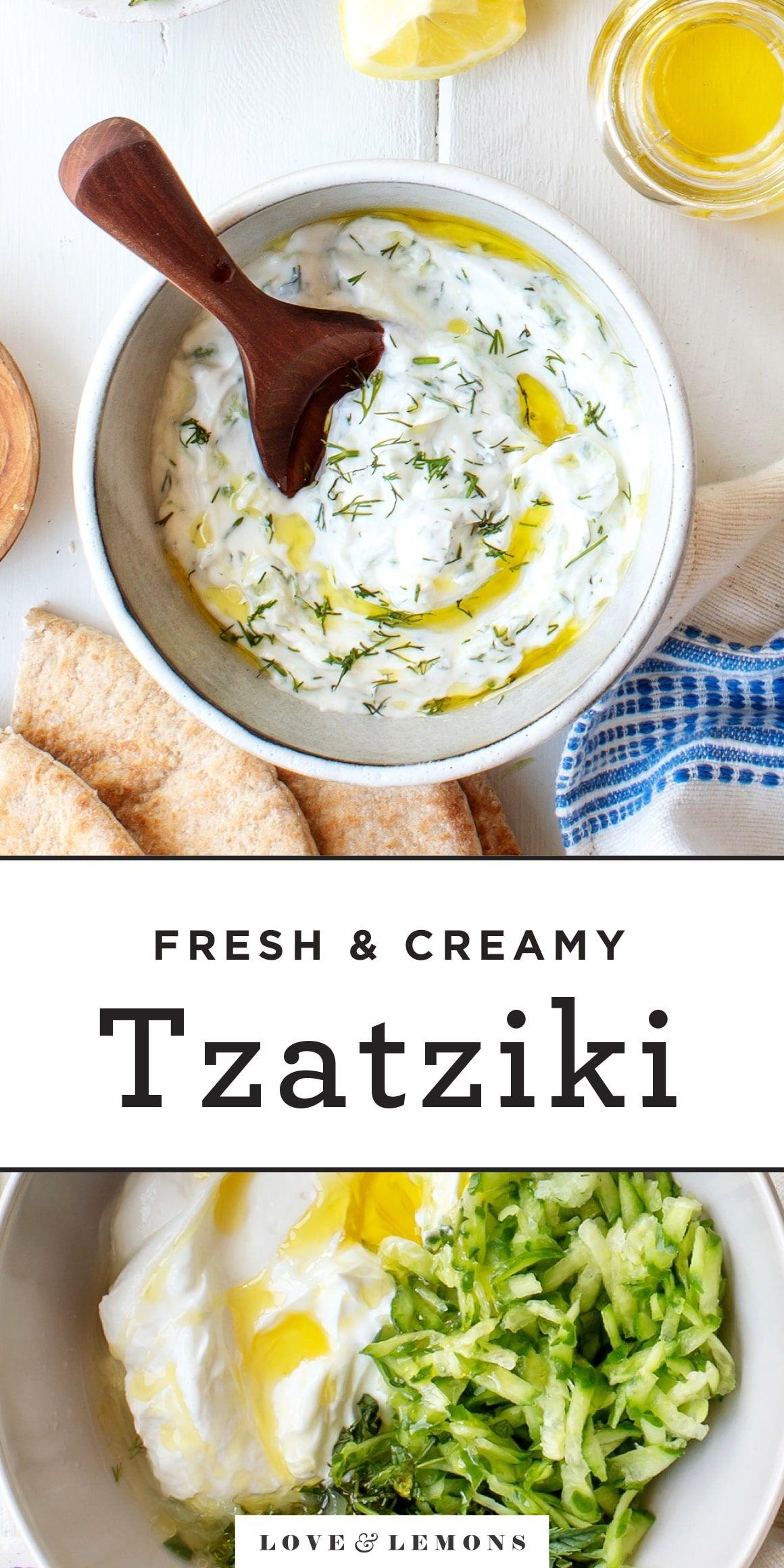 Tzatziki Recipe – Love and Lemons
