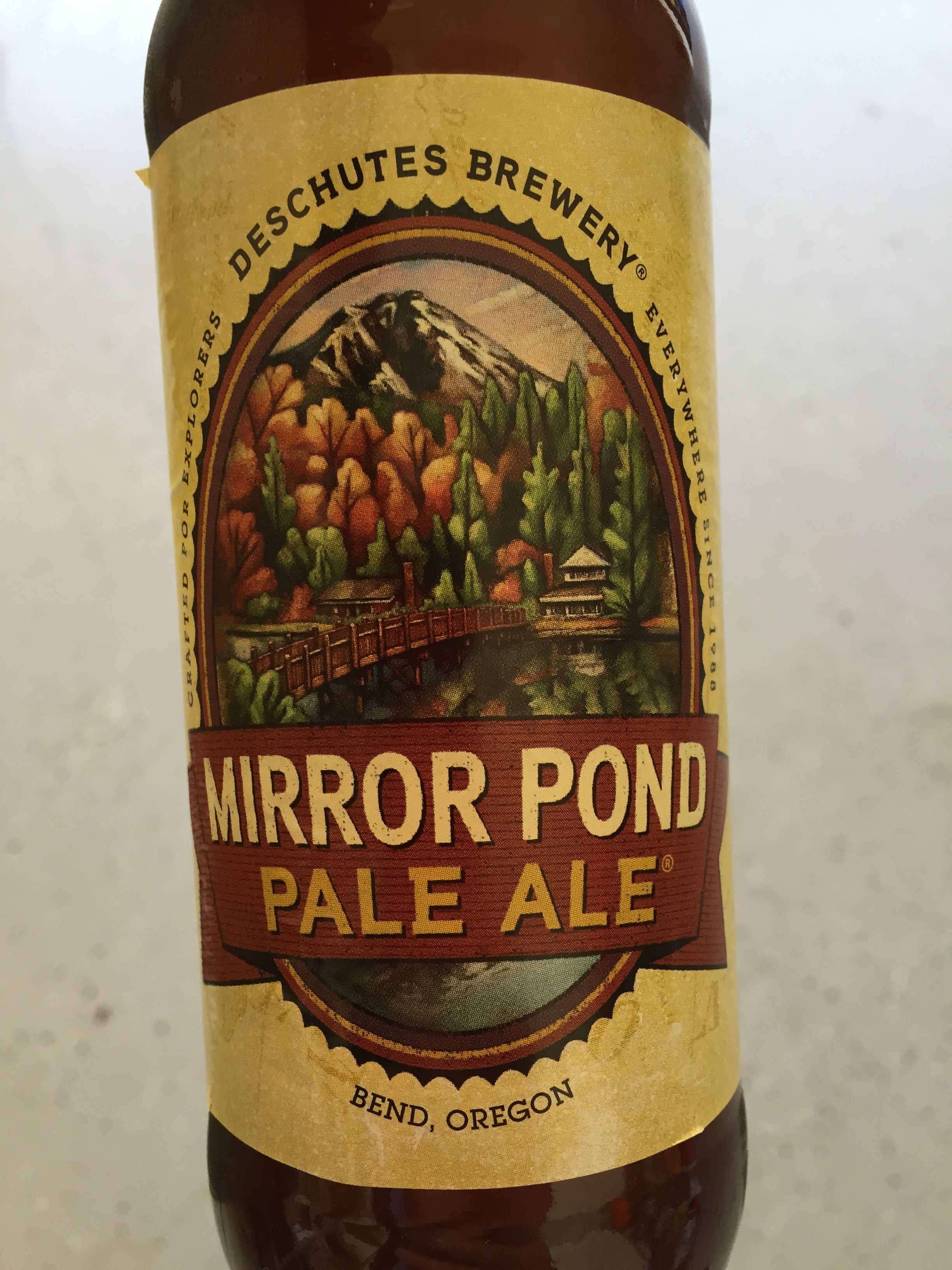 Mirror Pond Pale Ale. Very good, not rich, dry, flavorsome.