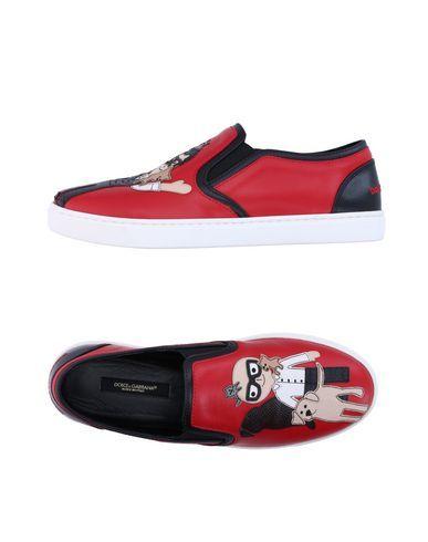 DOLCE & GABBANA Women's Low-tops & sneakers Red 8.5 US