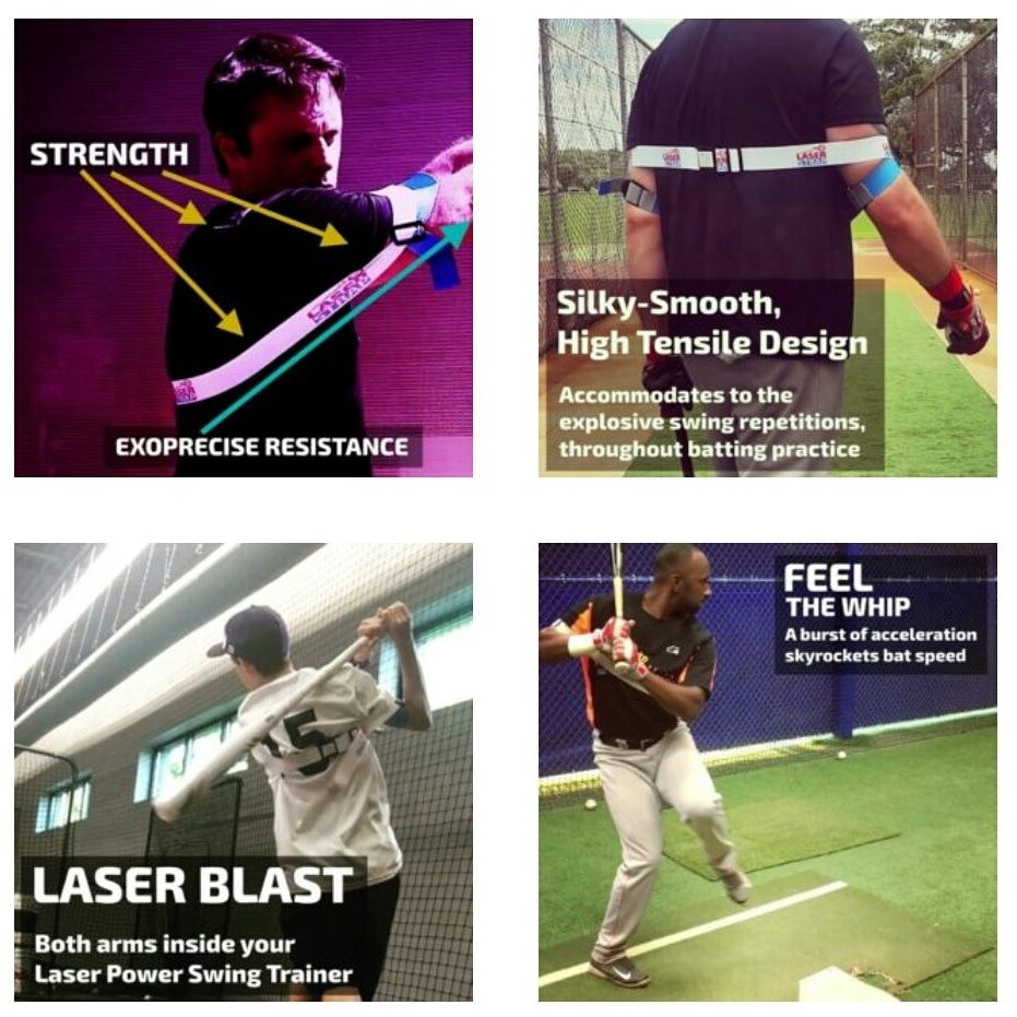 Batting Practice Ways To Hit Laser Bst Pst Exoprecise Hitting Trainers Swing Trainer Slow Pitch Baseball