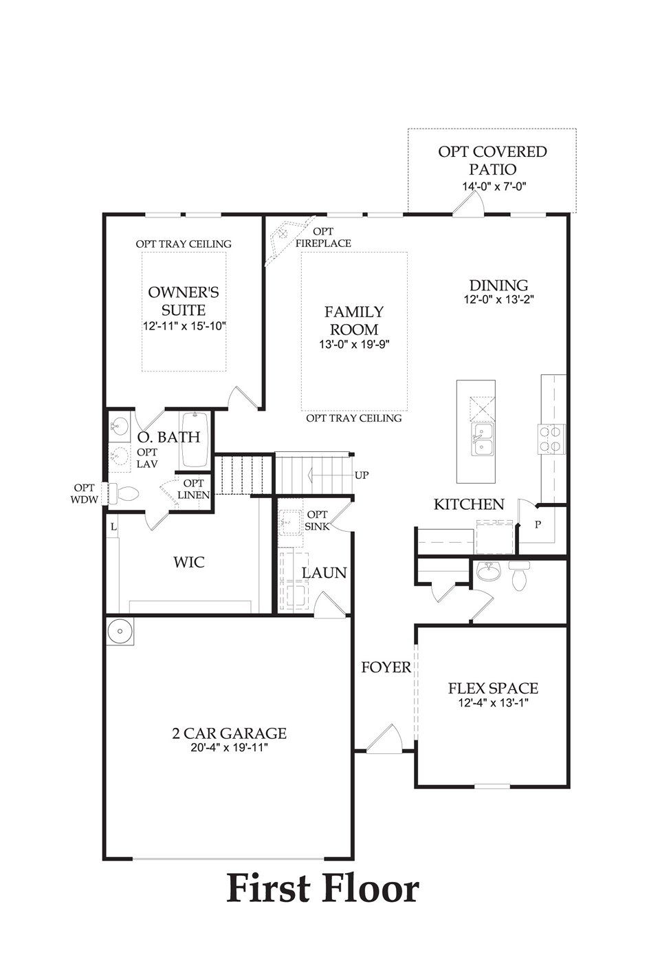 Stirling Bridge Austin Tx New Homes Centex Homes Claypool Floor Plan 2791 Sq Ft 4 5 Bedrooms 2 5 3 5 Baths Model Homes How To Plan Floor Plans