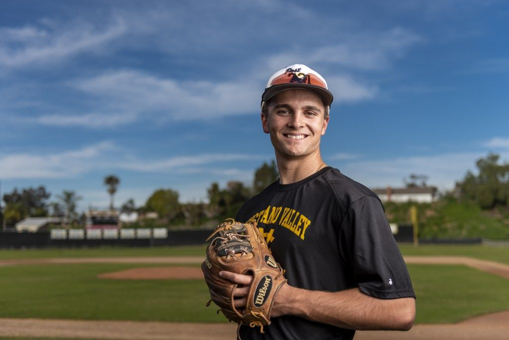 Orange County Baseball Preview Capistrano Valleys Nathan Manning Expects To Shine Brightest On The Diamond Orange County Sign Company Athletic Events