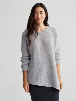 Ballet Neck Top in Cozy Wool Alpaca | 2016/Fall | Pinterest