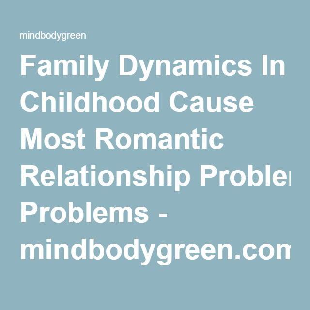 Relationship problems romantic Romantic Relationship