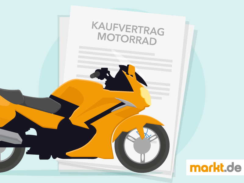 Kaufvertrag Motorrad Mustervertrag Und Tipps Markt De Motorrad Kaufen Kaufvertrag Motorrad