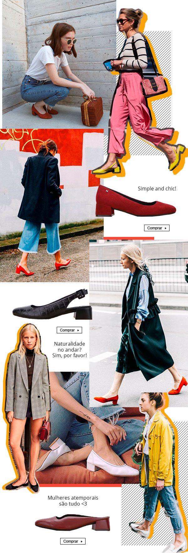 b578b7ba928cc sapato - classico - looks - trend - como usar | Pense em uma marca de  sapatos para mulheres que são donas de si, que priorizam seu bem estar  acima de tudo ...