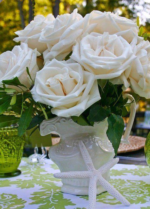 циферблате картинки большой букет белых роз доброе утро выжигания подойдет